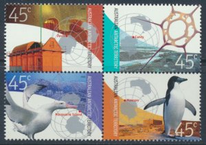 Australian Antarctic Territory SC# L119  SG 156a Stations MNH see detail & scan