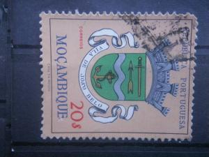 MOZAMBIQUE, 1961, used 20e, Arms Scott 422