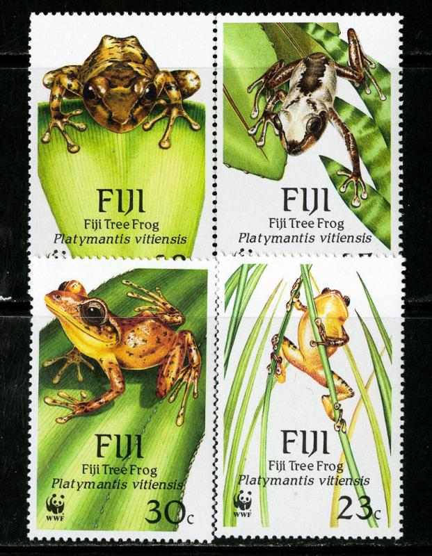 Fiji Stamps # 591-594 XF OG VLH Scott Value $25.25