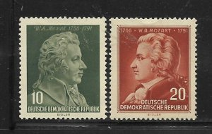 DDR,278-279, MINT HINGED, WOLFGANG