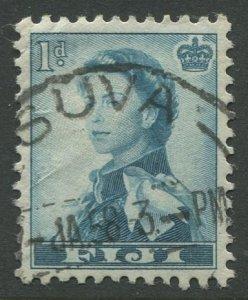 STAMP STATION PERTH Fiji #148 QEII Definitive Issue Used 1954 CV$0.30