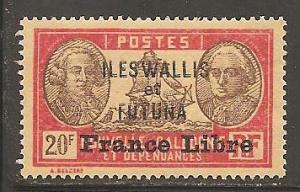 Wallis and Futuna Islands  SC  126   Mint, Never Hinged
