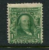 United States #300 Mint (Box2)