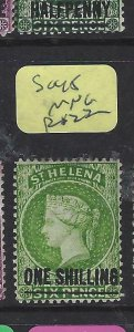 ST HELENA  (P0705BB)  QV  1/-     SG 45      MNG
