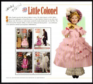Sierra Leone MNH S/S 2270 Shirley Temple In The Little Colonel X-Large Size