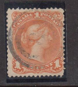 Canada #23 Used With Ideal 2 Ring 8 Cancel