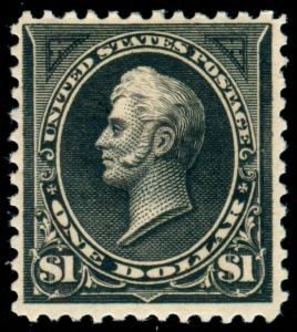 MOMEN: US STAMPS #261 MINT OG H