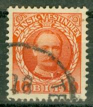 Danish West Indies - 44 Used