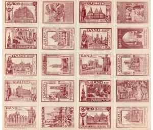 (I.B) Belgium Cinderella : Universal Exhibition (Gent 1913) large format