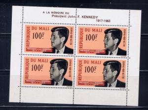 Mali C24a NH 1964 John F Kennedy S/S