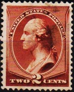 U.S.A. 1882 2c S.G.213 Fine Used