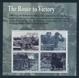 [81167] Grenada Grenadines 2005 Second World war Fall of Berlin Sheet MNH
