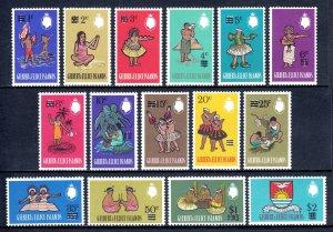Gilbert and Ellice Islands - Scott #110-124 - MNH - See desc. - SCV $8.50