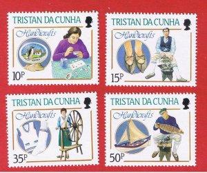 Tristan da Cunha #425-428  MNH OG   Handicrafts   Free S/H