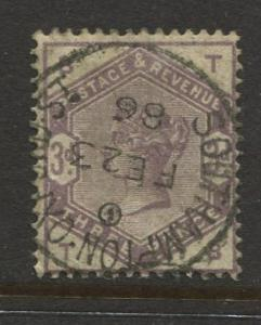STAMP STATION PERTH:Great Britain - #102 QV Definitive 1884 VFU CV$200.00.