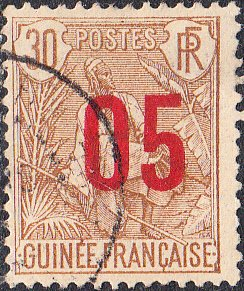 French Guinea #60 Used