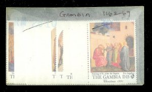 THE GAMBIA Sc#1162-1169 Complete Mint Never Hinged Set