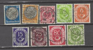COLLECTION LOT # 5146 GERMANY 9 STAMPS 1900+ CV+$19
