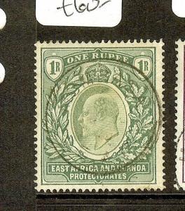 EAST AFRICA AND UGANDA  (P2205B)  KE 1R SG9   SON CDS  VFU