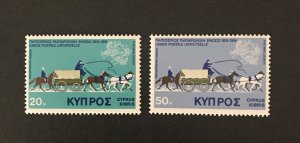 Cyprus 1975 #434-5 MNH CV $1.15