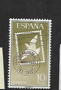 SPAIN ,989, MNH, CANCELED STAMP