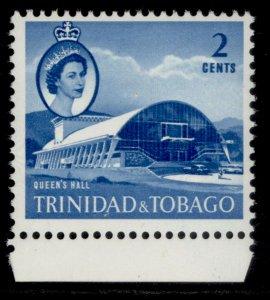 TRINIDAD & TOBAGO QEII SG285a, 2c blue, NH MINT.