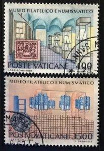 Vatican #793-794 U CV$5 Philatelic/Numismatic Museum [180538]