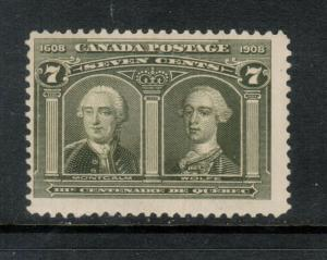 Canada #100 Mint Fine Never Hinged