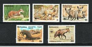 Botswana 1977 Diminishing Species set to 40t MNH