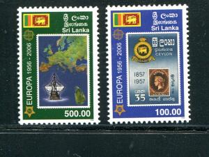 Sri Lanka 2006 Europa issue   VF NH