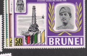 Brunei SC 169-71 MNH (9deq)
