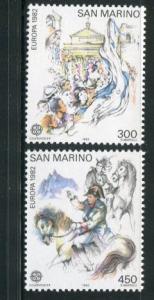 San Marino #1019-20 MNH Europa - Make Me An Offer