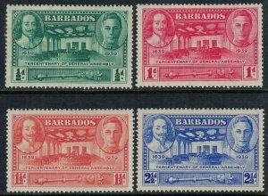 Barbados #202-5*  CV $9.80
