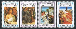 Anguilla 777-780,MNH.Michel 800-803. Easter 1989.Bosch,David,Weyden,Raphael.