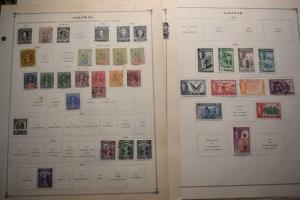 SARAWAK SAMOA OLD COLLECTION  DR SCHULTZ ESTATE MINT AND USED Z635