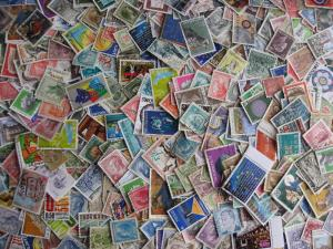 Interesting Luxembourg mixture (duplicates & mixed condition) of 500