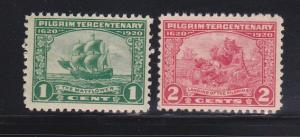 United States 548-549 MNH Various (B)