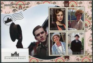Mayreau Grenadines St Vincent 2014 MNH Downton Abbey 4v M/S II TV Series Stamps