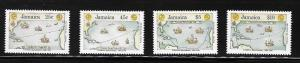 Jamaica 1990 Discovery of America 500th Anniversary Map Columbus MNH A557