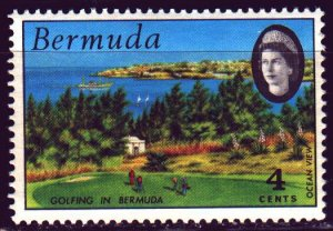 Bermuda. 1971. 273 from the series. Golf, sports. MNH.