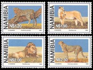 Namibia 1998 Scott #878-881 Mint Never Hinged