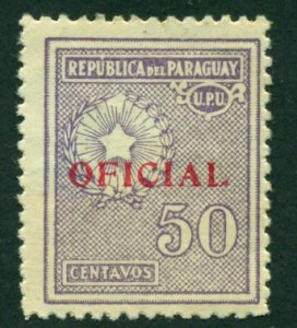 Paraguay 1935 #O95 MH SCV (2018) = $0.35