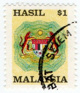 (I.B) Malaysia Revenue : General Duty $1 (small format)