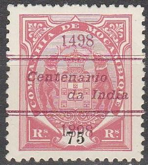 Mozambique Company #52  Unused CV $12.50 (A15044)