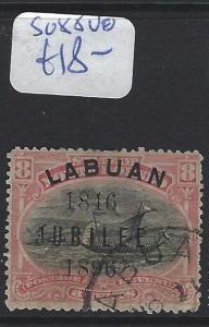 LABUAN (P2307B)  8C  JUBILEE  BOAT   SG 88    VFU