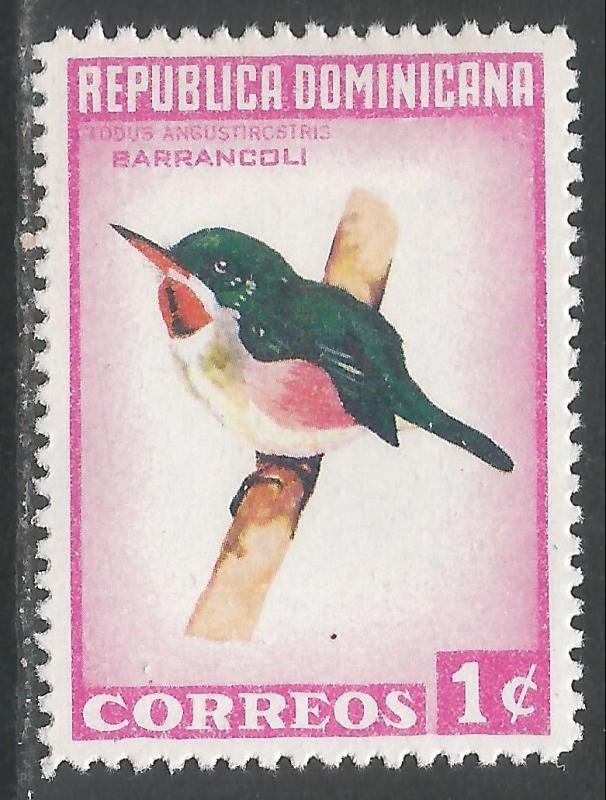 DOMINICAN REPUBLIC 602 MOG P1142