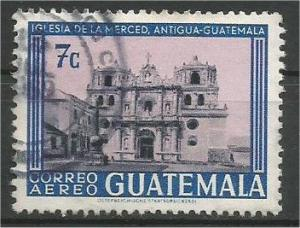 GUATEMALA, 1967, used 7c, Mercy Church Scott C369