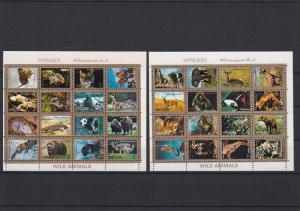 Umm Al Qiwain Different Animals tigers Etc Stamps Sheets Ref 24870