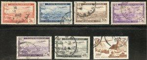 Algeria Scott C1-C2,C4,C5(x2),C6,C9 UFLH - SCV $2.55