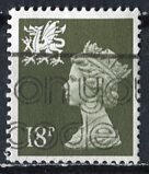 Great Britain, Region, Wales; 1987: Sc. # WMMH33: O/Used Single Stamp